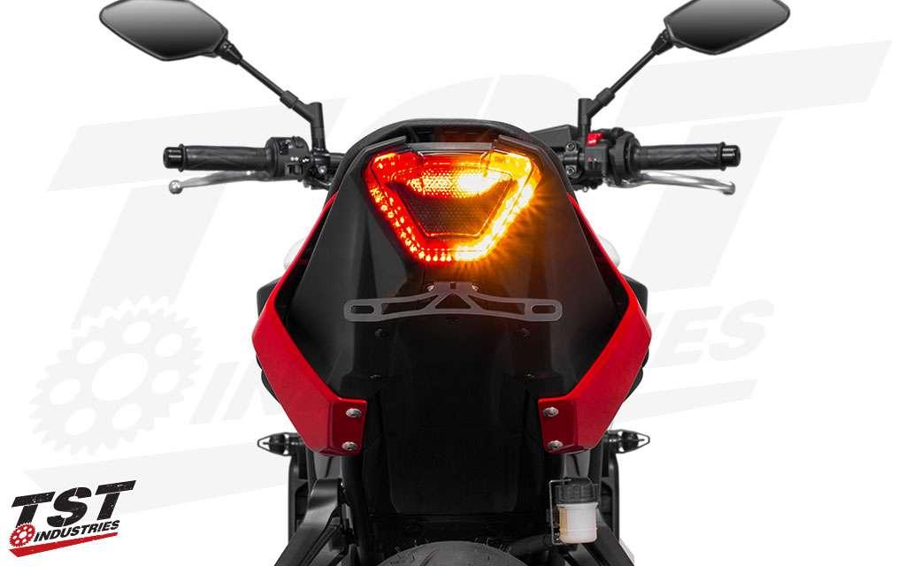 Aksesoris modifikasi lampu depan belakang dan cover lampu Yamaha MT 07