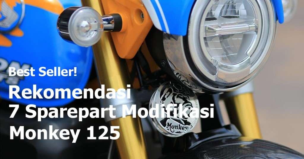 Best Seller Rekomendasi Modifikasi Honda Monkey 125 Terbaru 2020