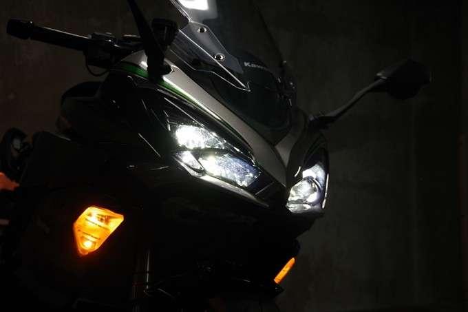 Lampu Depan Ninja 1000SX High Beam