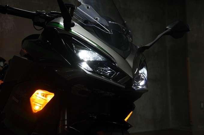 Lampu Depan Ninja 1000SX Low Beam