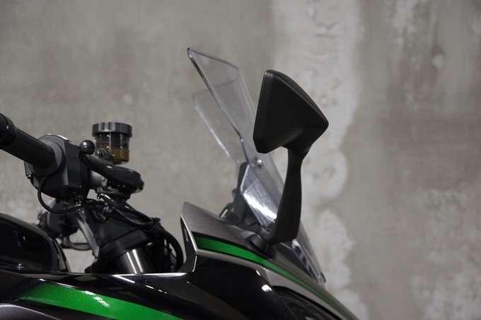 Windshield Ninja 1000X Posisi Tinggi