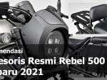 Rekomendasi Sparepart & Aksesoris Rebel 500 Original Honda Terbaru