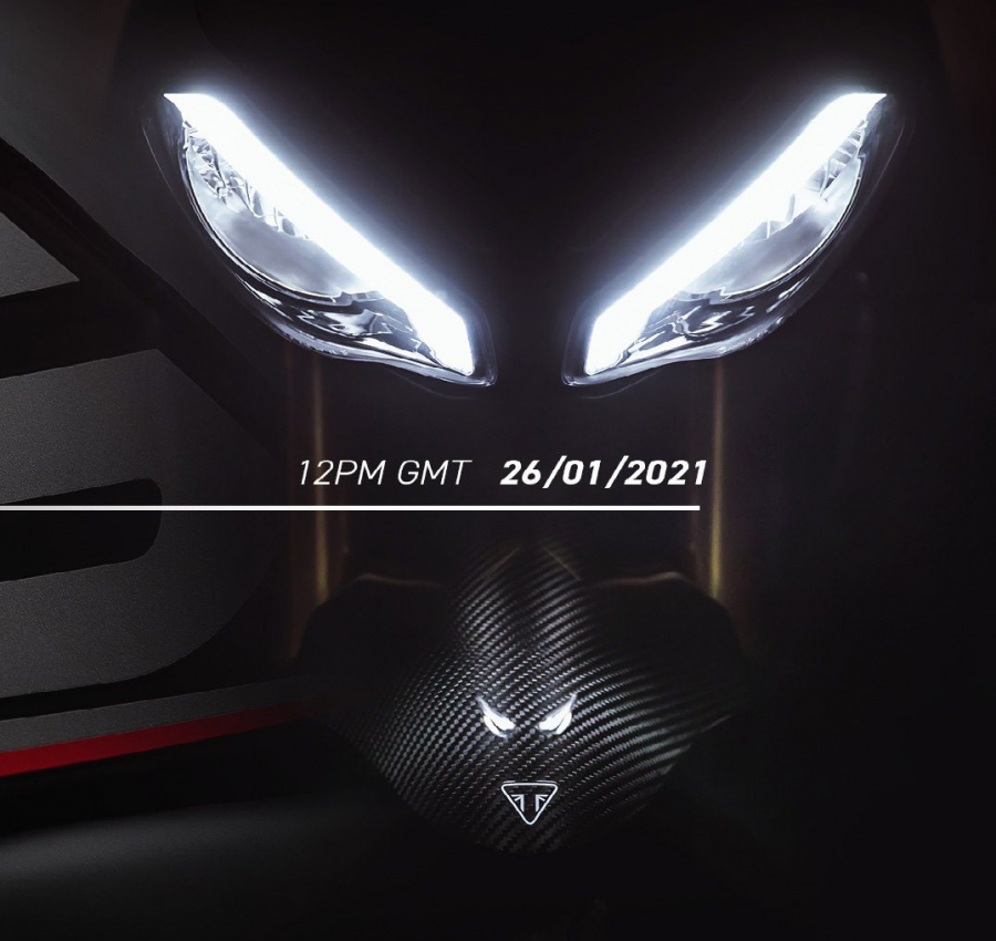 Speed Triple 1200 RS 2021 Teaser