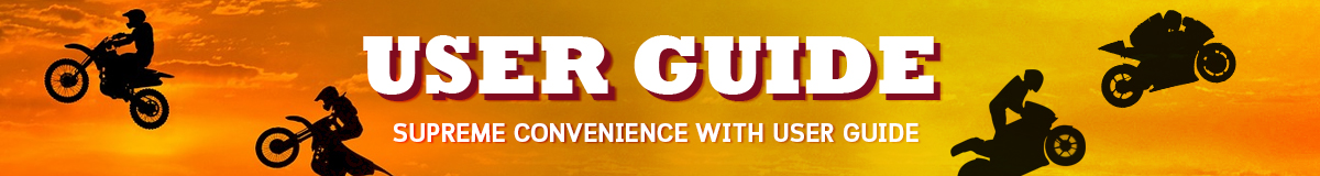 Supreme convenience with User Guide