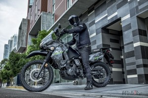 [New Vehicle] KAWASAKI KLR650 2017 Year Overseas Model
