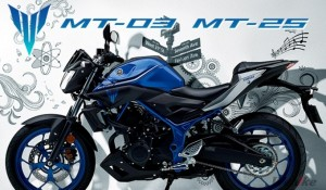 [New Vehicle] YAMAHA Will Release the 2017 MT03 & MT25, the Lightweight Model of Its MT Series, on Dec 15