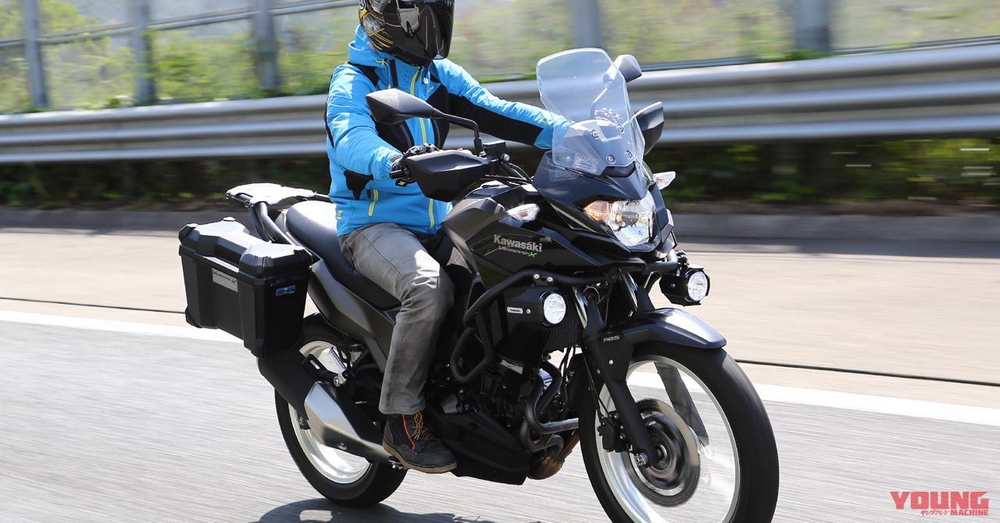 Ulasan Test Ride Kawasaki VERSYS-X 250 Tourer - Webike Indonesia