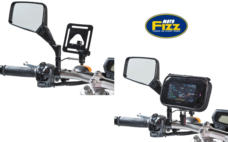 Smartphone Holder Pemasangan di Spion TANAX Motofizz Digital Case