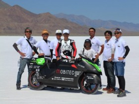 EV-02A Bonneville Motorcyle Speed Trials 2019