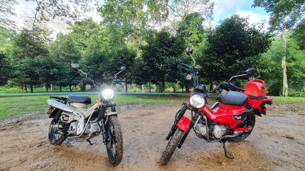 Duo Maut CT125 versi Military dan Farmer