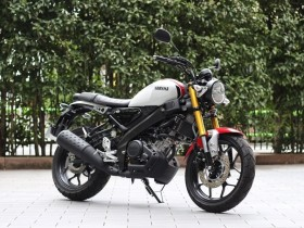 Test Ride Yamaha XSR155