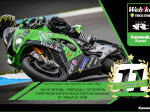 Webike SRC Kawasaki France Trickstar Awali 12 Hours of Estoril dari Posisi ke-8