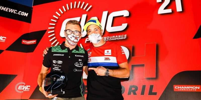 Morgan Berchet Dianugerahi Anthony Delhalle EWC Spirit Trophy di Estoril