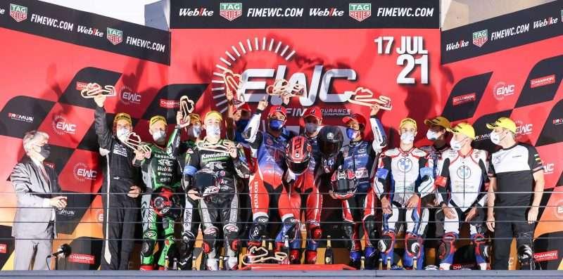 F.C.C. TSR Honda France Juara 12 Hours of Estoril