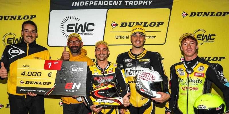 No Limits Juara EWC Dunlop Independent Trophy di Most
